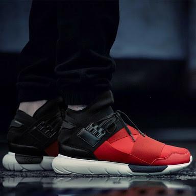 f0ea3a2ba719e Jual Sepatu Adidas Y3 Qasa High Royal Black Red - DKI Jakarta ...