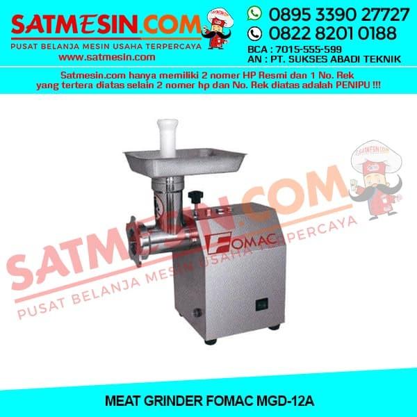 Fomac Mesin Penggiling daging / Meat Grinder (MGD-12A) - Silver