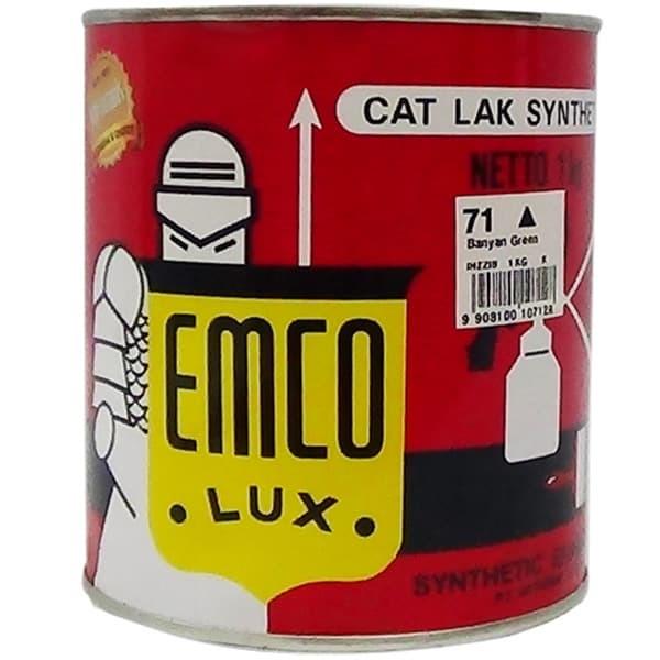 Jual Cat  Emco  Cat  Kayu dan Besi  1kg Semua warna  BRAVO