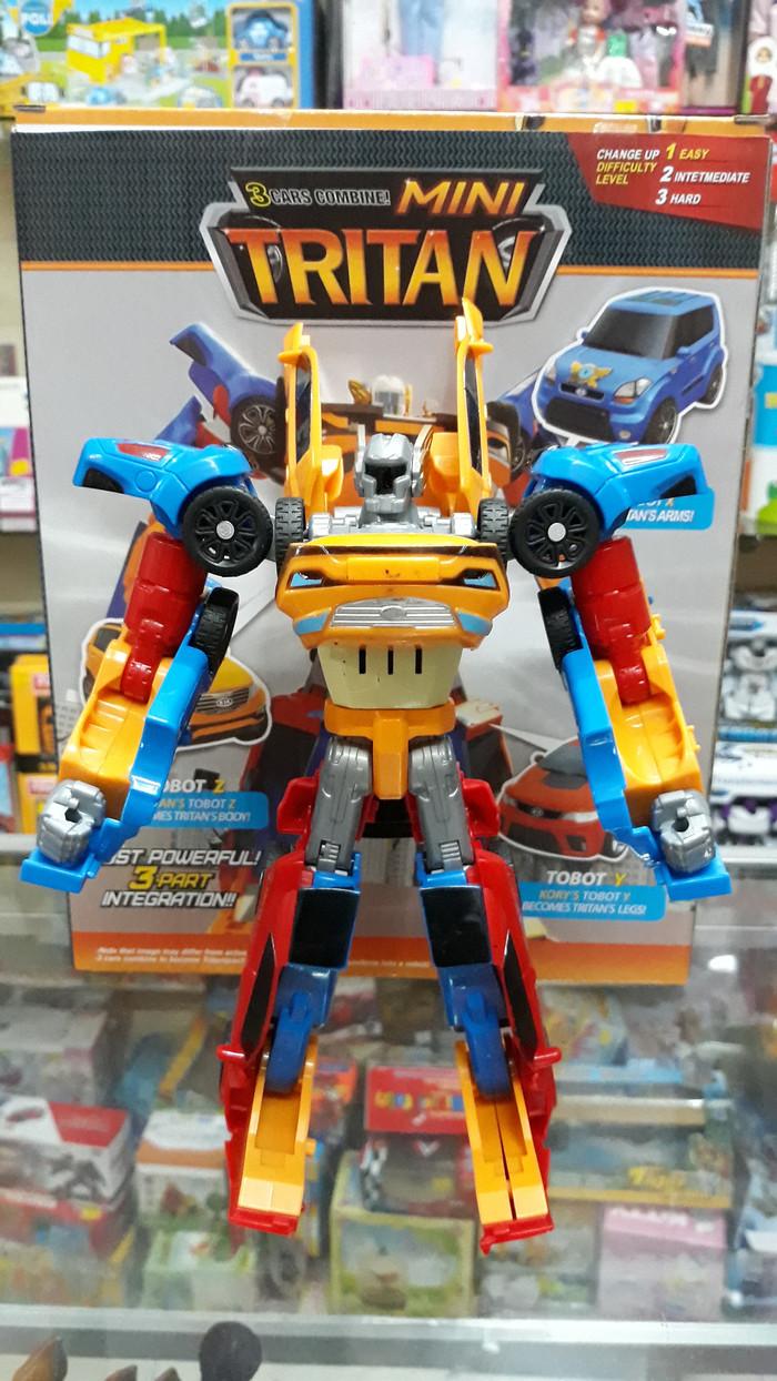 Jual TOBOT TRITAN Robot Transformers Tobot X Tobot Y Tobot Z Tobot Mini Kota Surabaya Kopih Shop