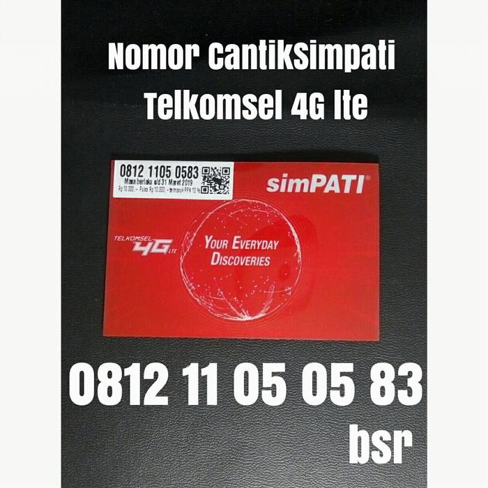 nomor cantik simpati telkomsel 4G LTE nomer kartu perdana pilihan 0583