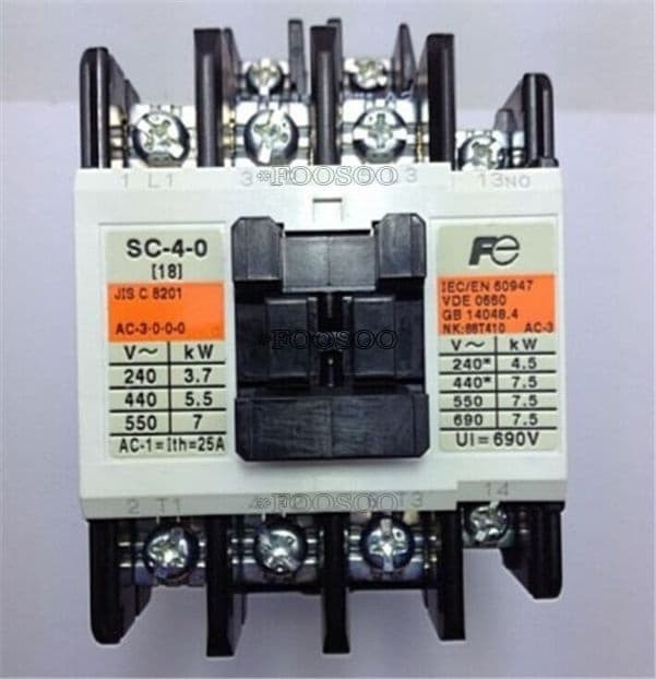 Jual kontaktor/contactor fuji SC-4-0 - Jakarta Pusat