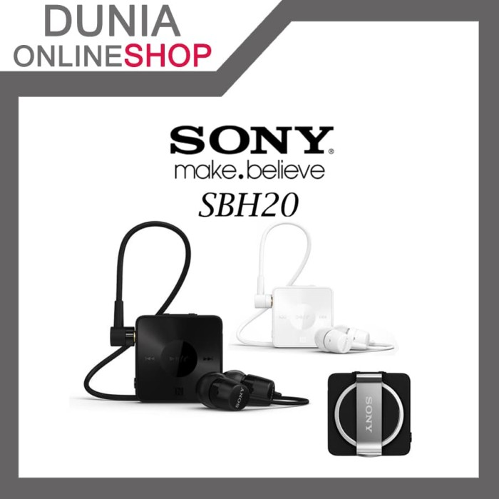 ea90a259c02 Jual SONY Stereo Bluetooth Headset SBH20 - Dunia Onlineshop | Tokopedia