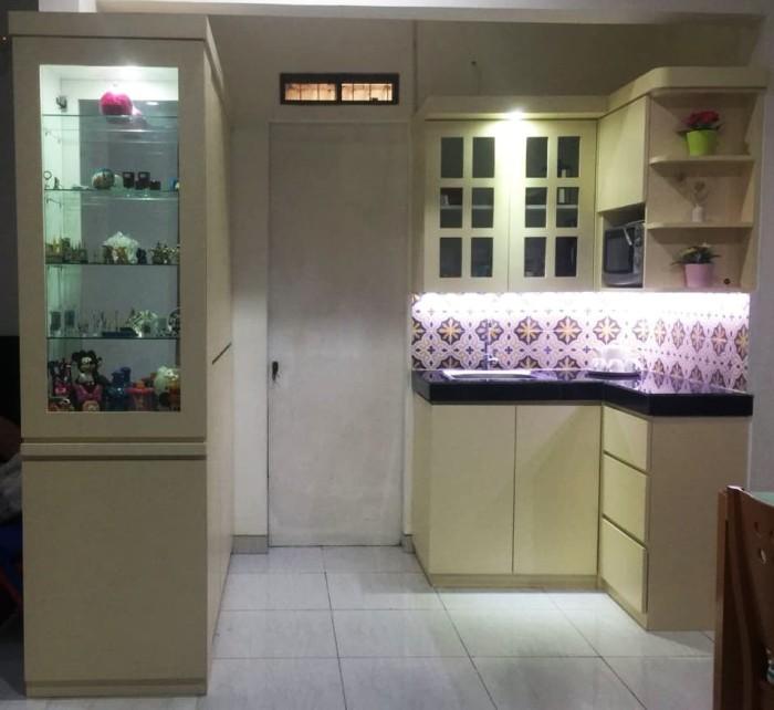Jual Kitchen Set L Shaped Classic Bikinmebel Tokopedia