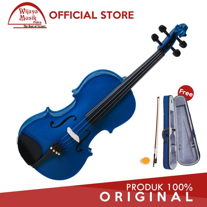 harga Cremona biola / violin (1/4) sv-75 / sv-75bu - biru Tokopedia.com