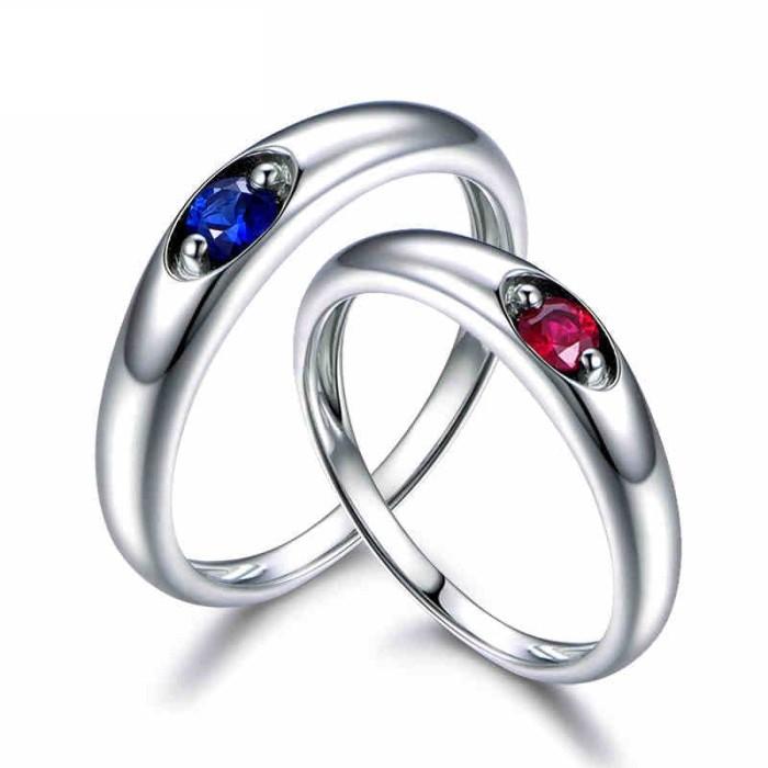 harga Tiaria 18k star and sky ring perhiasan cincin pernikahan emas dan ruby Tokopedia.com