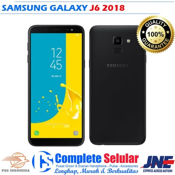 Jual Samsung Galaxy J6 2018 Complete Selular Tokopedia