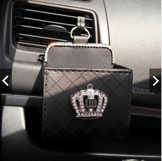 harga Dad crown mahkota pouch kulit tempat koin kunci hp karcis kertas parki Tokopedia.com