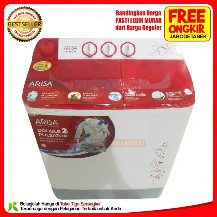 Arisa Mesin Cuci 2 Tabung 8 Kg AW-8875 (Free Ongkir Jabodetabek)