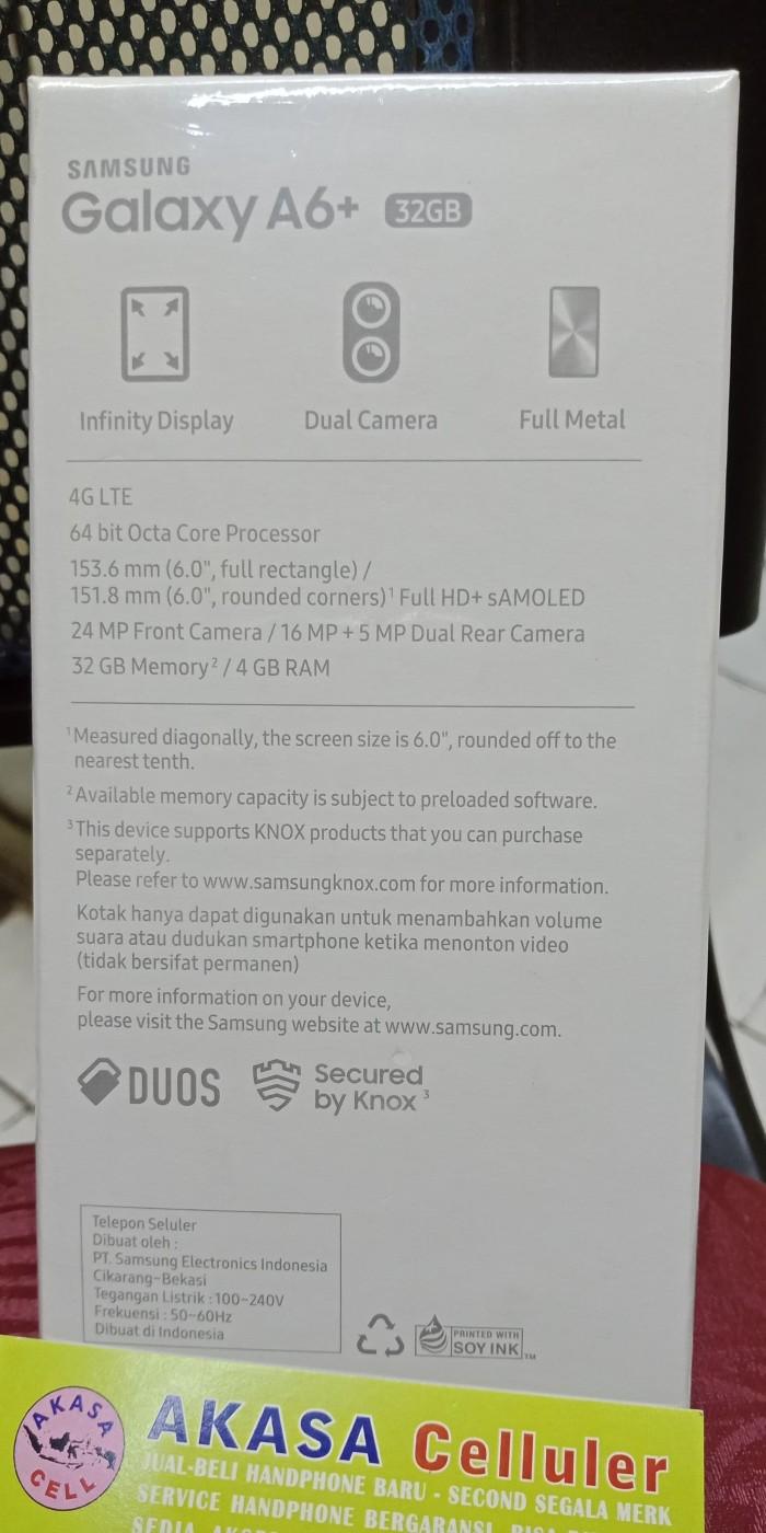 Jual Samsung Galaxy A6 Plus 2018 Garansi Resmi Sein Akasa Cell