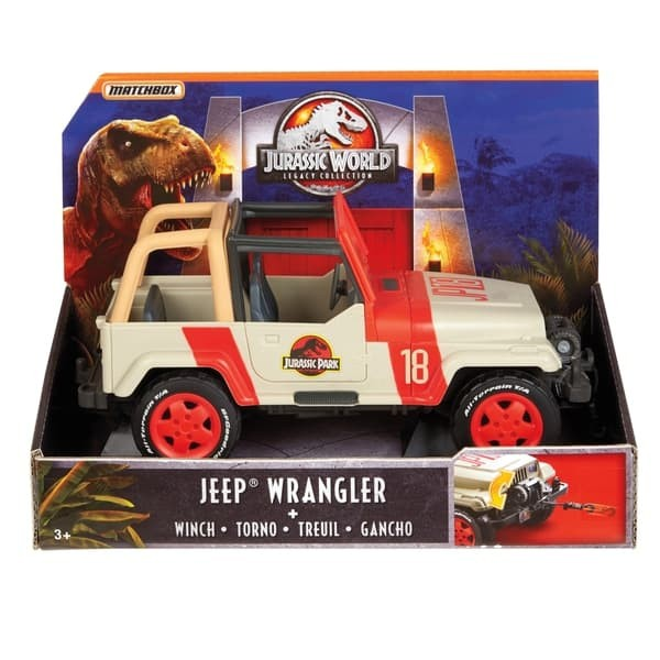 Winch For Jeep >> Jual Jurassic World Legacy Collection Matchbox Jeep Wrangler With Winch Kota Tangerang Deaze 360 Tokopedia
