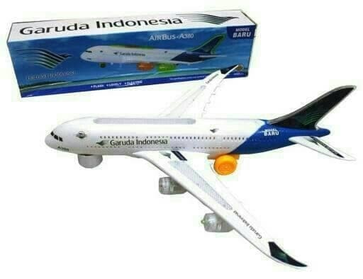 Foto Produk Pesawat Garuda Indonesia A380 JUmbo Baterai Pesawat Garuda Indonesia dari Mainan anak 88