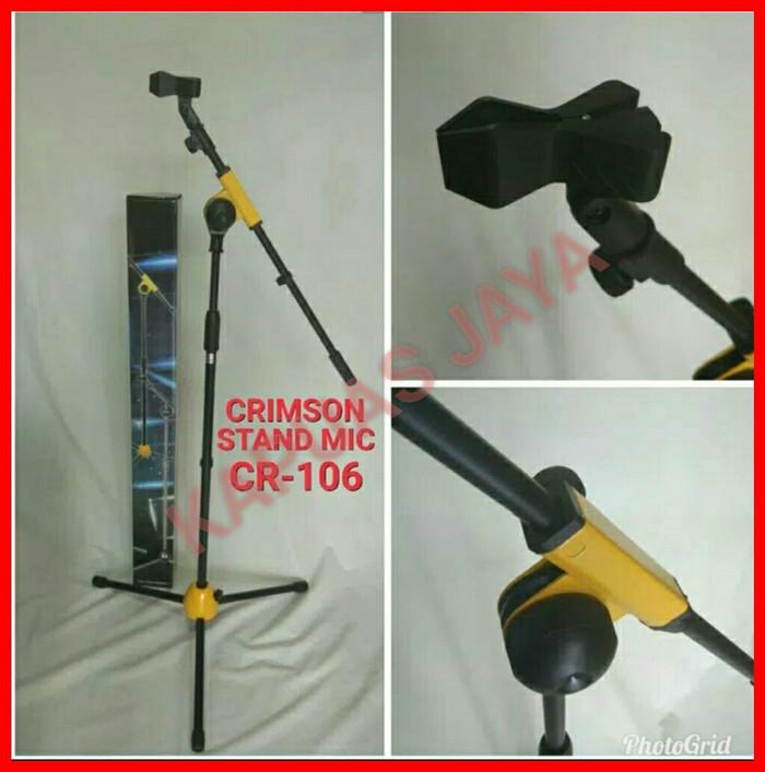 harga Stand mic / microphone crimson cr-106 full besi Tokopedia.com
