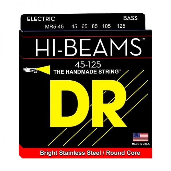 harga Senar bass dr strings hi-beam medium bass mr5-45 (45-125) Tokopedia.com