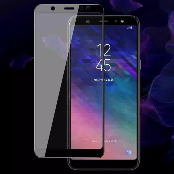 Jual Samsung Galaxy A6 Plus 2018 Full Cover Tempered Glass Kaca
