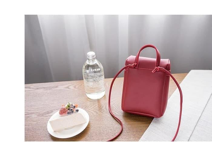 Tas selempang kecil wanita buat wadah handphone/dompet