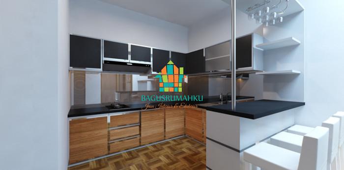 Jual Custome Furniture Kitchen Set Mini Bar Minimalis Astri