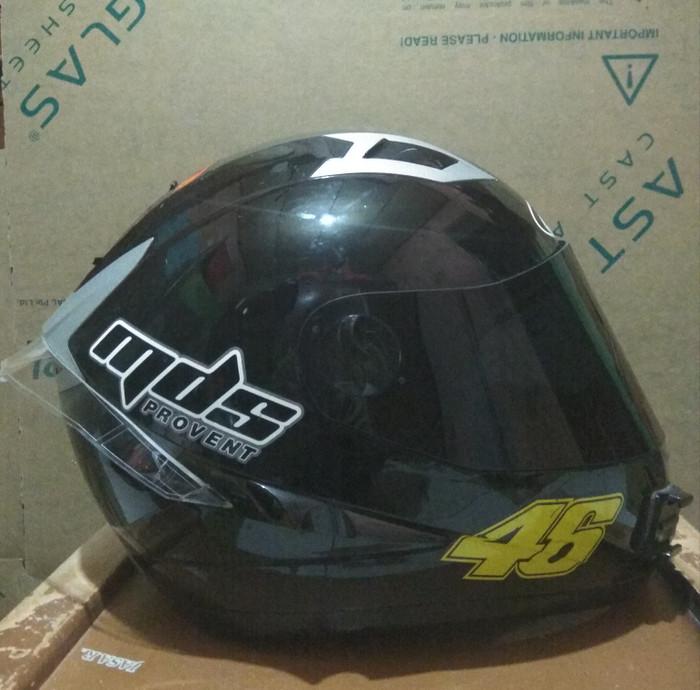 58a74a1f Jual Flat visor custom MDS provent,MDS pro rider - Kab. Bogor ...