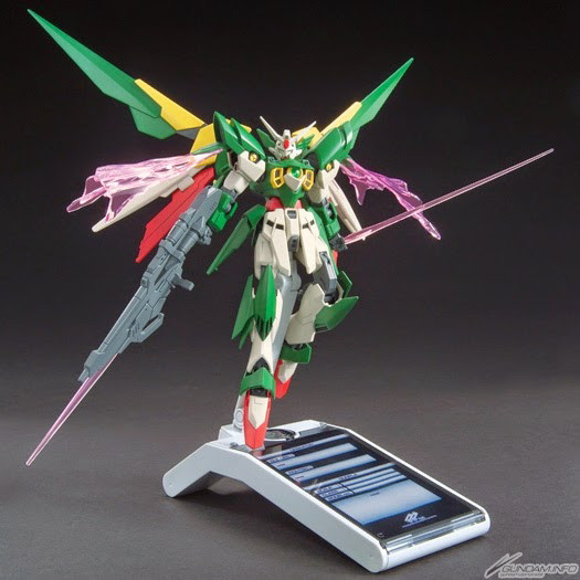 14 Gundam Fenice Rinascita Clear Color You Never Seen Before 10