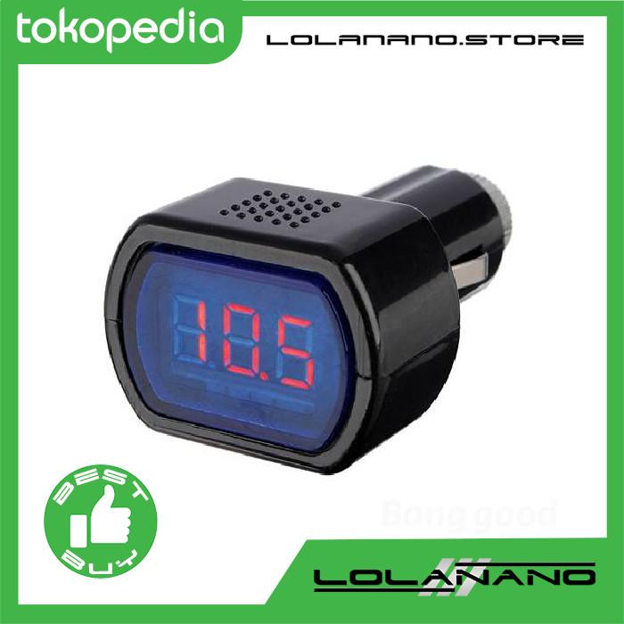 harga Monitor voltase baterai mobil 12v - black Tokopedia.com
