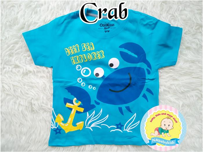 ... BOY Size 7T Baju Kaos Atasan Pendek Anak Karakter Oshkosh ...