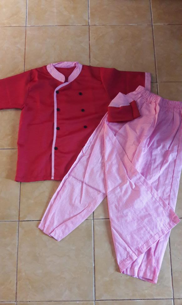 Baju muslim anak laki sarkoci kokici 8-9 thn