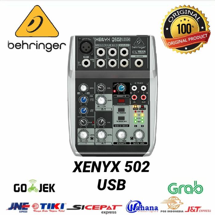 harga Mixer behringer xenyx q 502 usb original Tokopedia.com