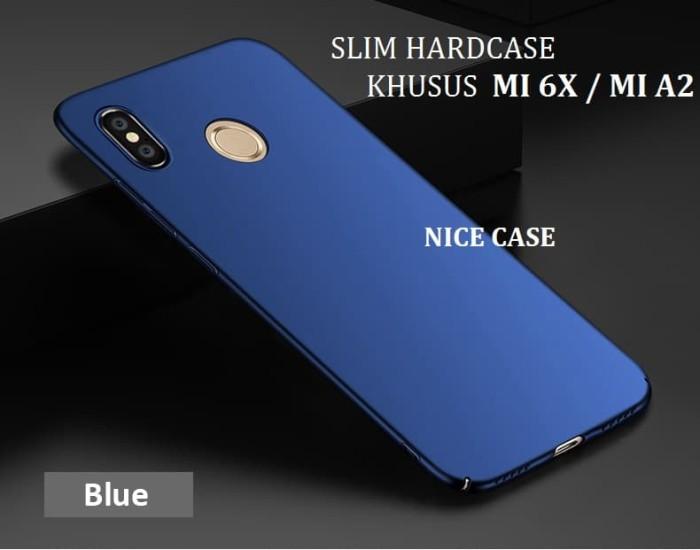 check out 88198 ec6f2 Jual XIAOMI MI 6X / XIAOMI MI A2 - HARD CASE BABY SKIN SLIM PC MATTER MI6X  - Hitam - Jakarta Barat - NICE CASE - OS   Tokopedia