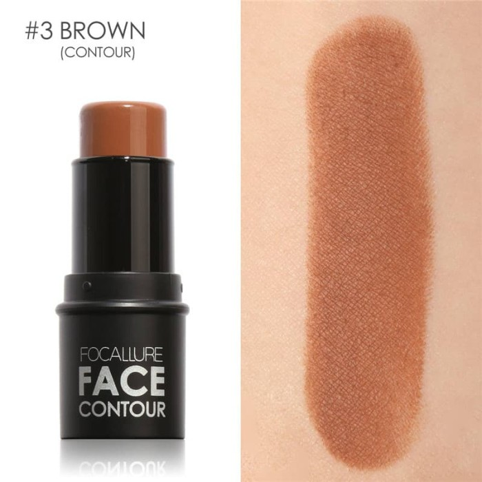 Focallure highlighter & contour multi stick - 03 coffee