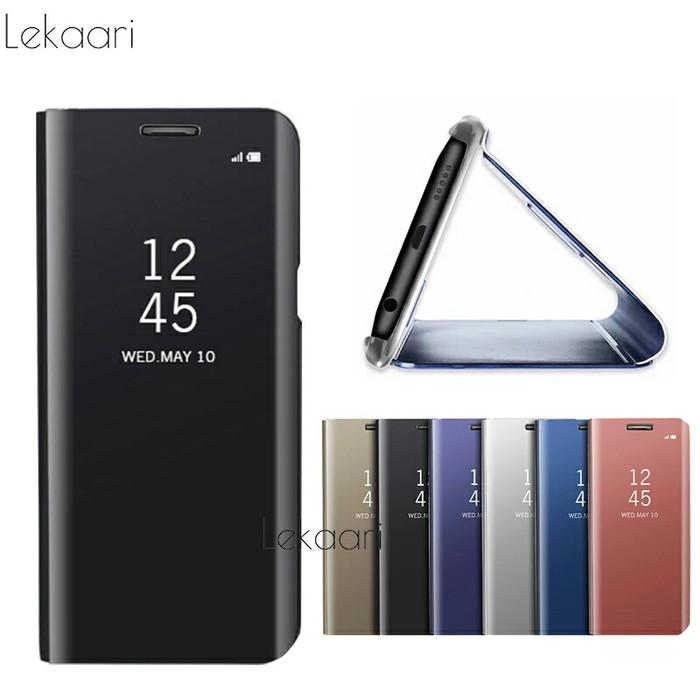 100% authentic 9bf9a eaad5 Jual flip cover origina xiaomi redmi note 5 pro flip case mirror S view -  Kota Bekasi - long cell | Tokopedia