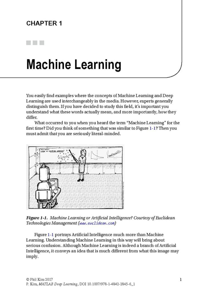 Deep Learning Matlab