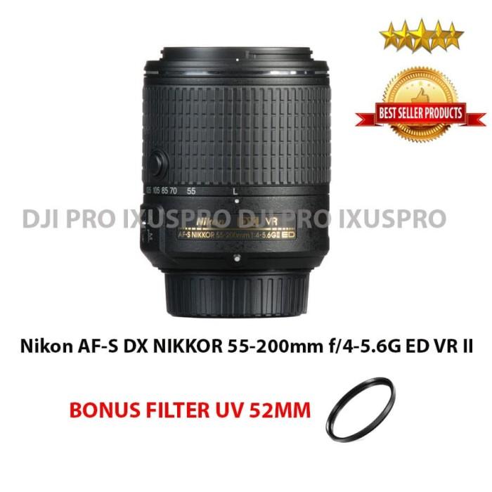 LENSA NIKON 55-200MM VR II - LENSA KAMERA NIKON AF-S DX 55-200MM