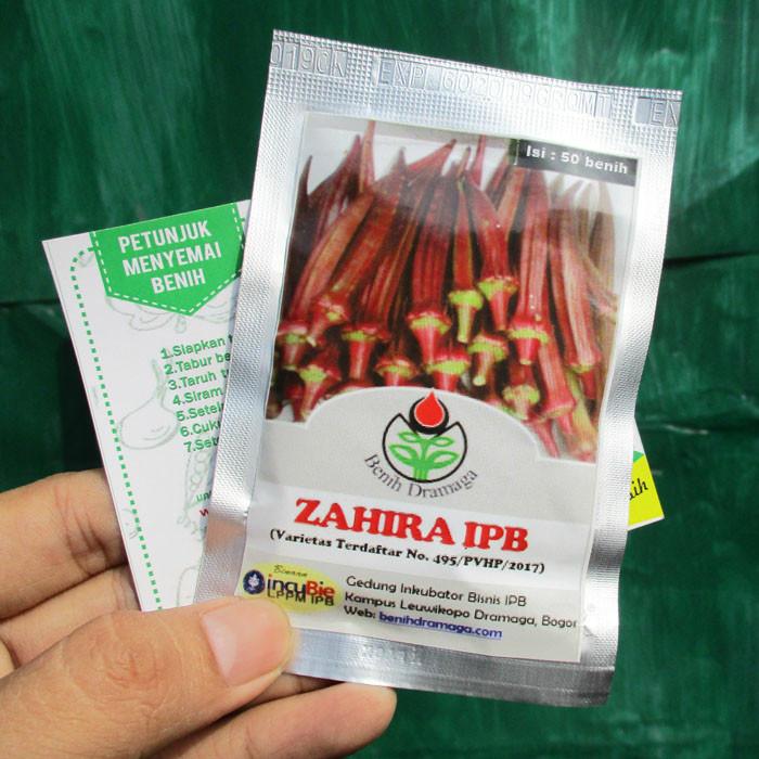Foto Produk Okra Merah Zahira IPB dari mewalik-jaya