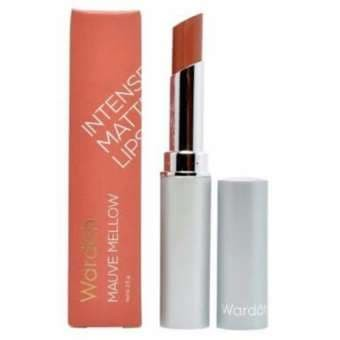 Wardah Intense Matte Lipstick No. 04 Mauve Mellow - Original