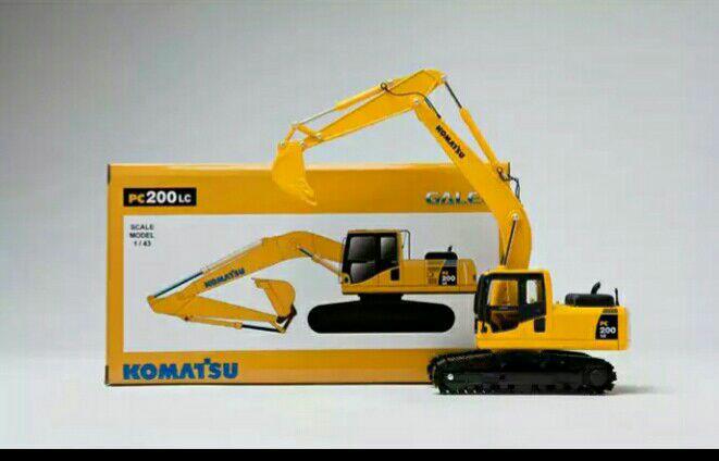 harga Diecast excavator pc200 komatsu miniatur Tokopedia.com