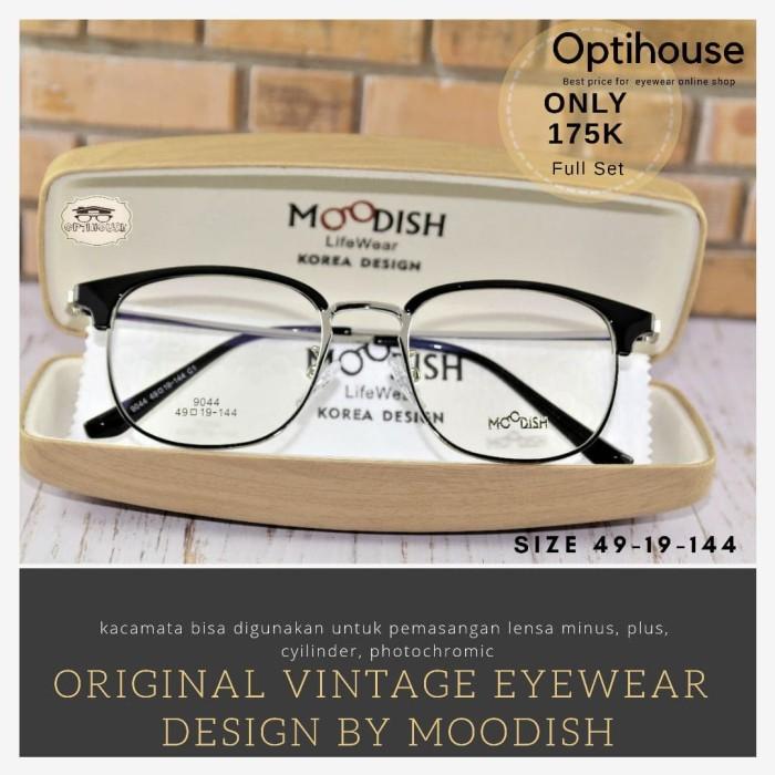 Jual Frame Kacamata Minus Baca Anti Korea Pria Wanita Moodish 9044 ... 50927afd38