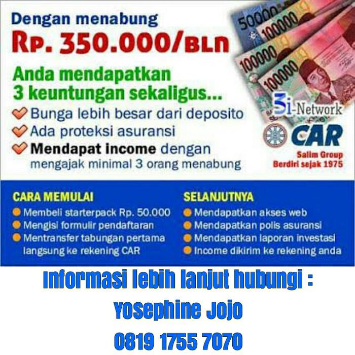Jual 3i Network Car Solusi Nabung Cerdas Kota Bandung Agenpos