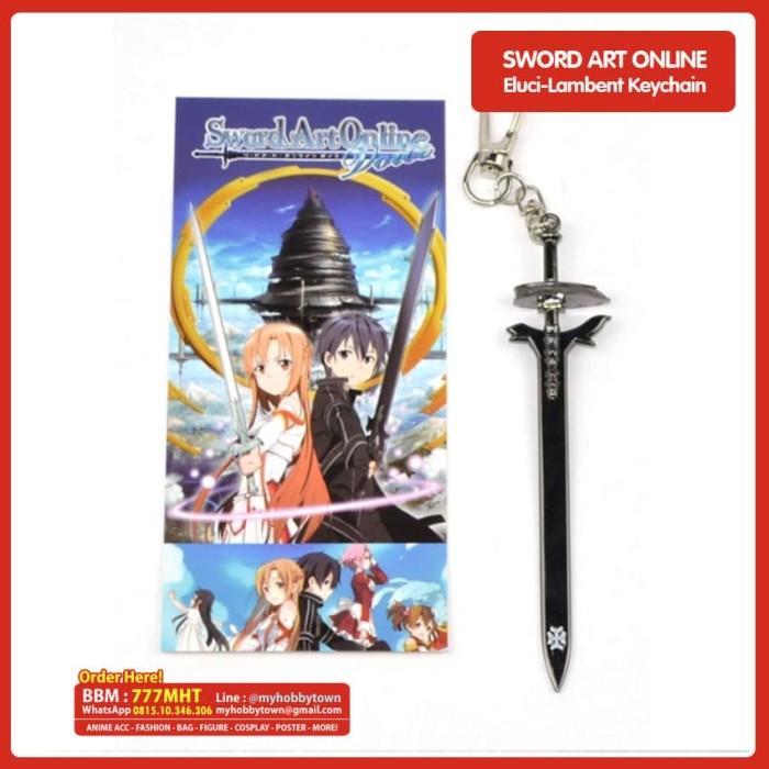 ... harga Gantungan kunci (keychain) sword art online : elucidator lambent combi Tokopedia.com