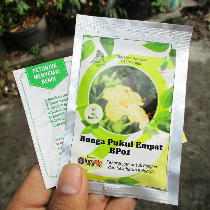 Foto Produk Benih Biji Bunga Pukul Empat BP01 IPB dari mewalik-jaya