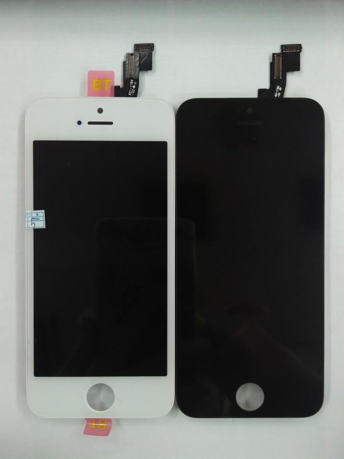 LCD + TOUCHSCREEN IPHONE 5S HITAM DAN PUTIH