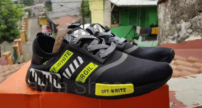 unique design meet beauty Jual Adidas NMD R1 x OFF WHITE x Virgil Abloh - Kota Semarang - Fayra Shoes    Tokopedia