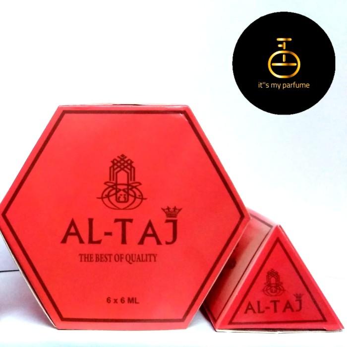Al Taj Aroma Sabaya Parfume Non Alkohol 6 ml - Its My Parfume