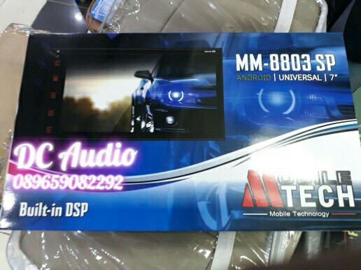 Jual Head unit MTECH MM 8803 SP Android 7