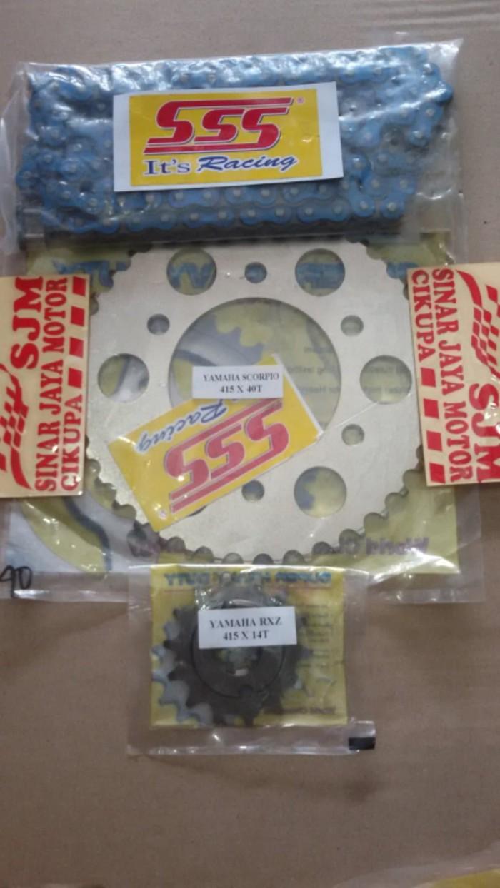 Harga Limited Gear Sss Rantai Did Hd Gold 15t Xabre R15 Rp 592500 Motor Vixion New Warna Set Biru Hsbt 415 Sale