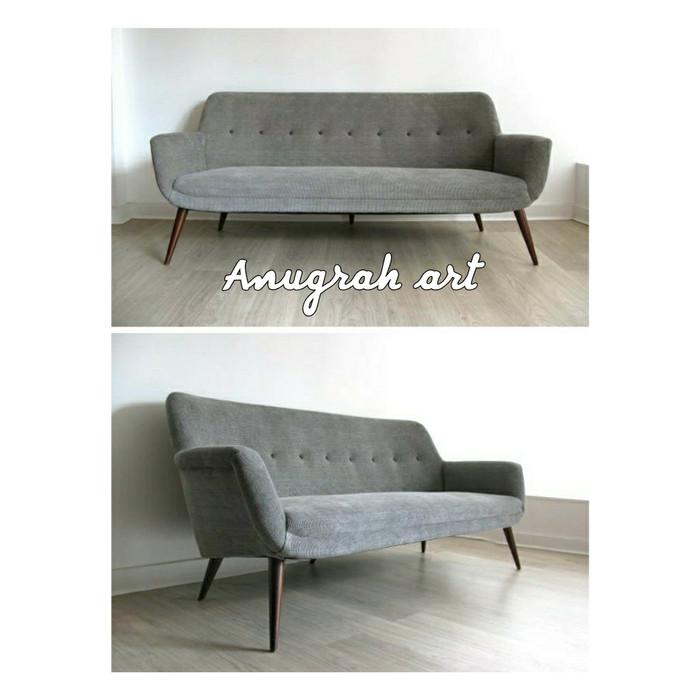 Jual Sofa Retro Vintage Jepara Asli Jepara Dudukan 2 Anugrah Art