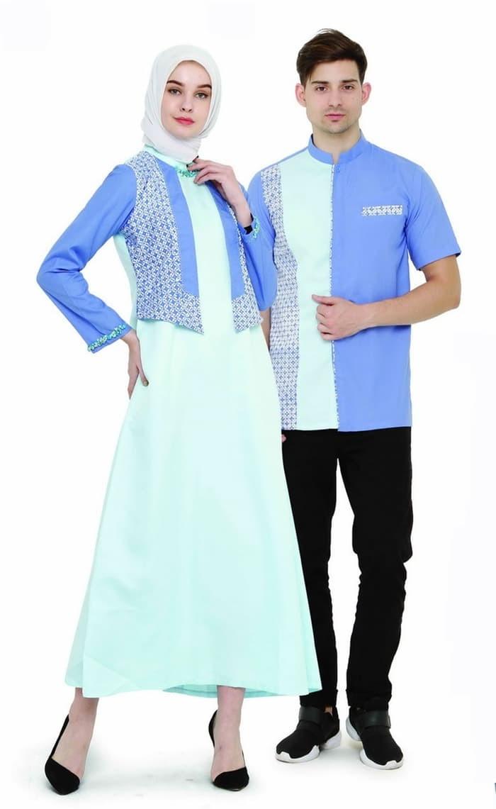 Jual Baju Muslim Couple Pria Wanita Pasangan Serasi