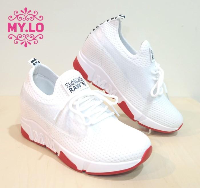harga Sepatu casual wedges slipon kets wanita import mylo ms329 Tokopedia.com