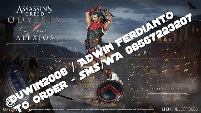 Jual Po Import Figure Assassin S Creed Odyssey Alexios