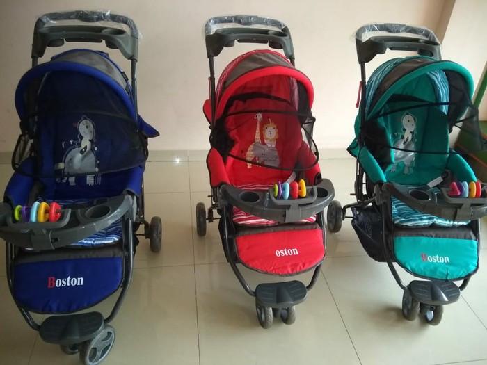 harga Baby stroller pliko boston-new (via gojek) Tokopedia.com
