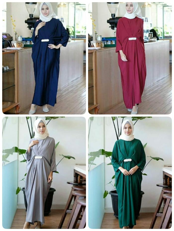 harga Sherina kaftan kaftan muslim wanita kaftan velvet busana muslim murah  Tokopedia. 11e1770110